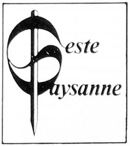 Logo de l'éditeur « Geste Paysanne »