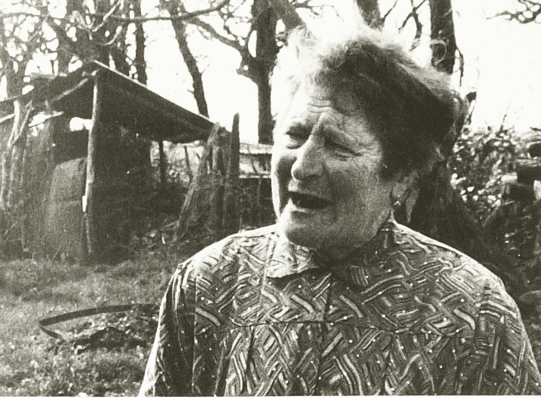 Solange Sainturat. Cliché Monique Leyssène. 13 avril 1983.