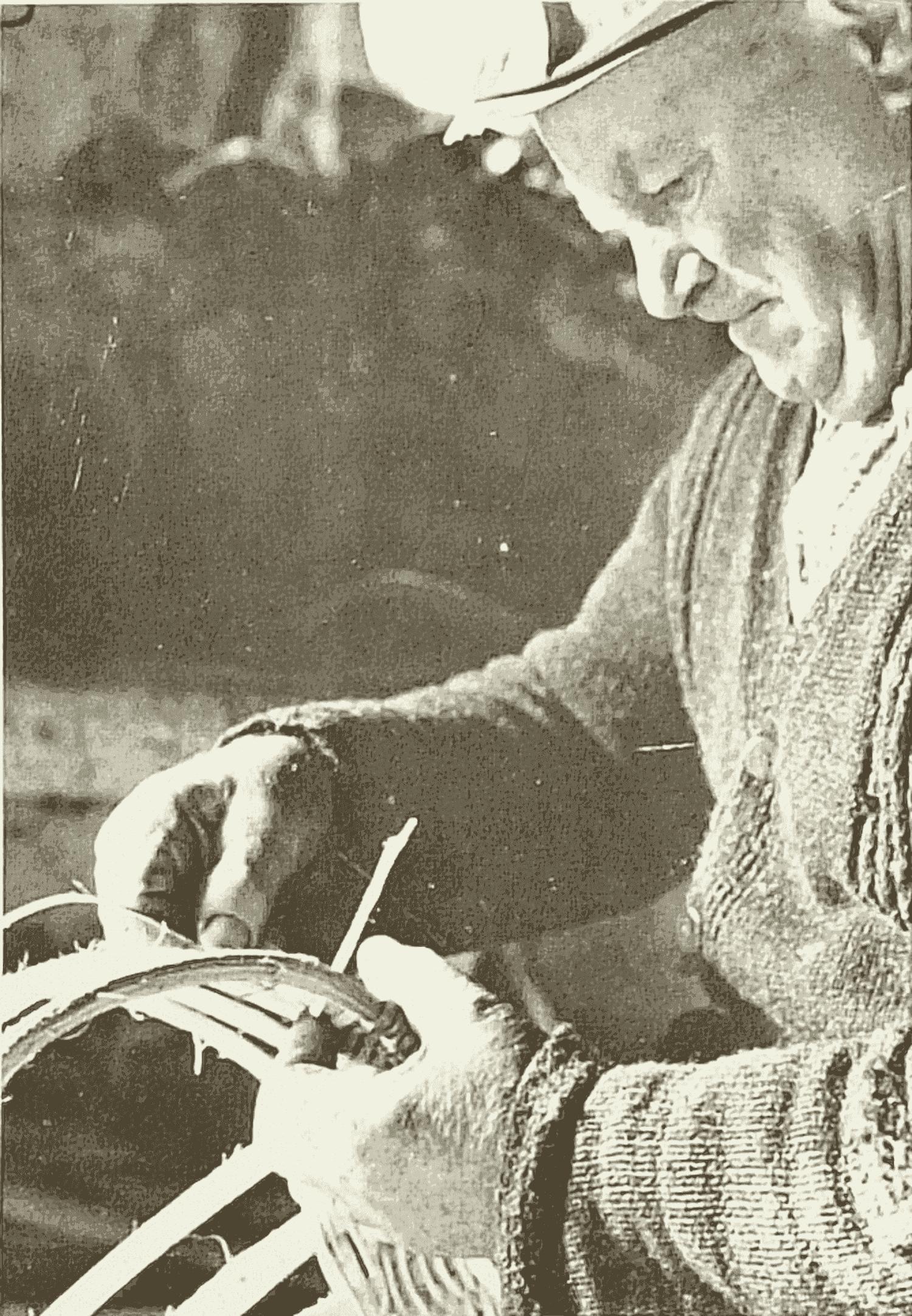 Fabrication d'un panier (suite)