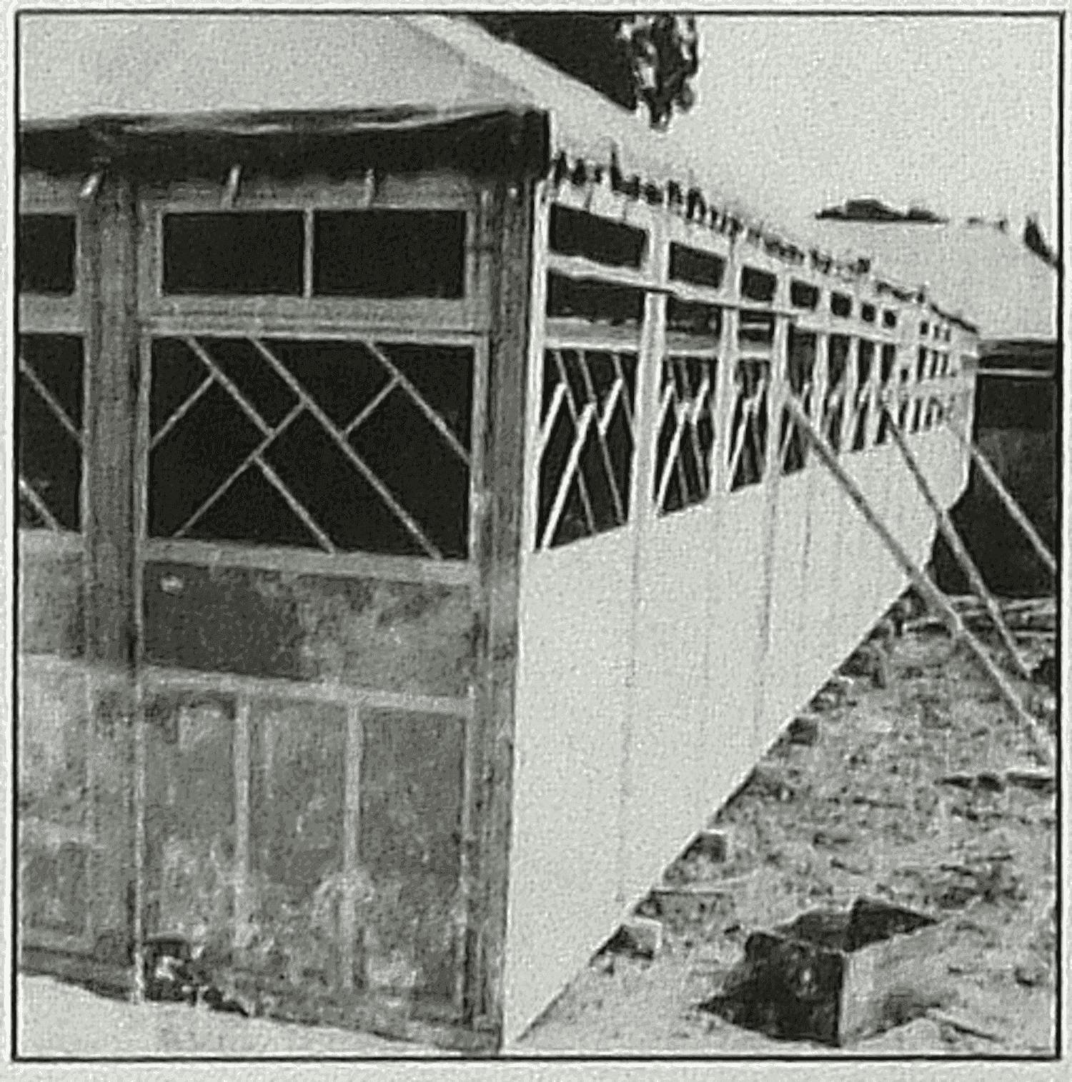 Région de Bressuire (79), vers 1955-60. Parquets de bals d'Alfred Talon. (2)