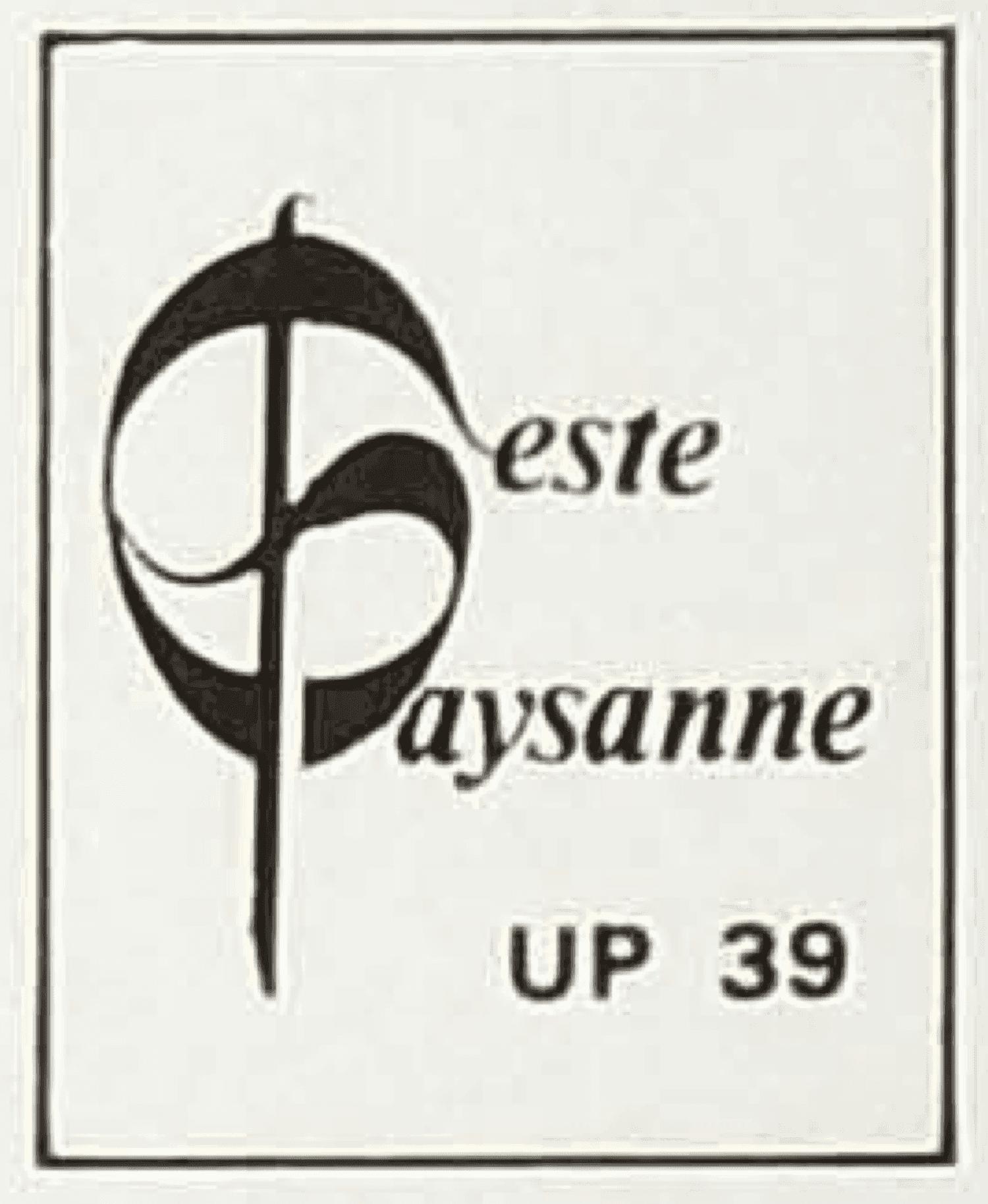 Logo – Geste Paysanne UP 39