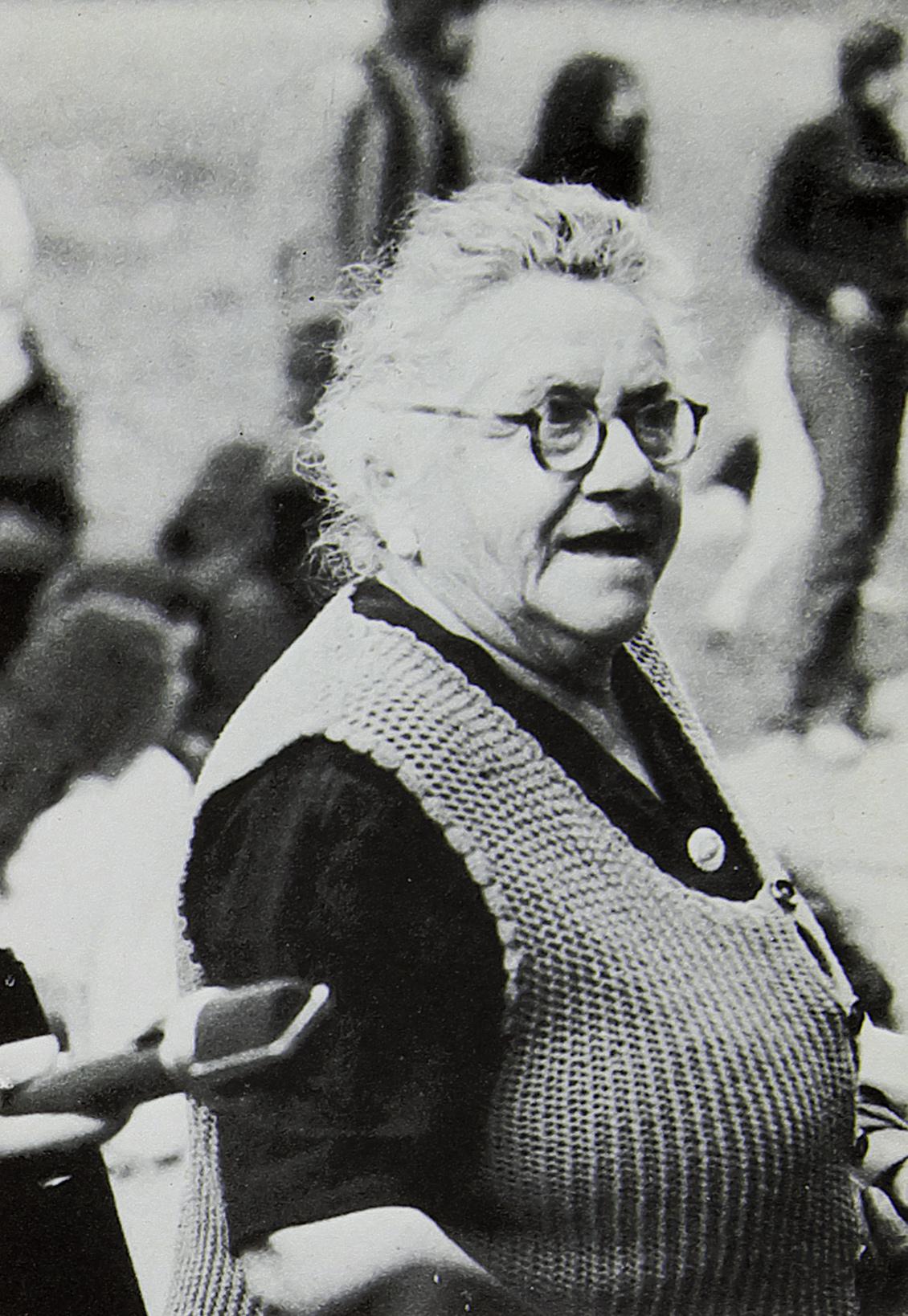 Mme Reichert – Photo Dominique Lemaire