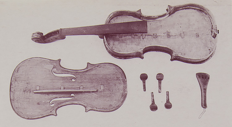 Violon « Veysset » à Lamazière Basse