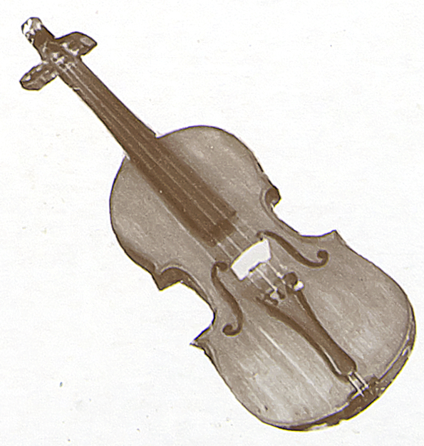 Violon de lutherie populaire